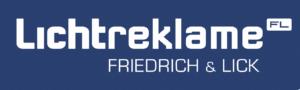 Friedrich und Lick - Werbeschilder